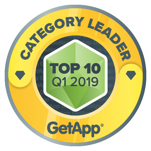 Category Leader - Top 10:Q1 2019 GetApp
